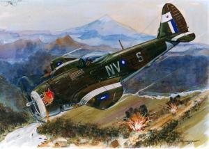 A p-47 divebomb